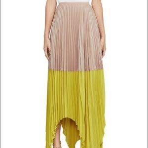BCBGMaxAzria Christy Pleated Skirt